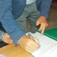 La firma di Depalma