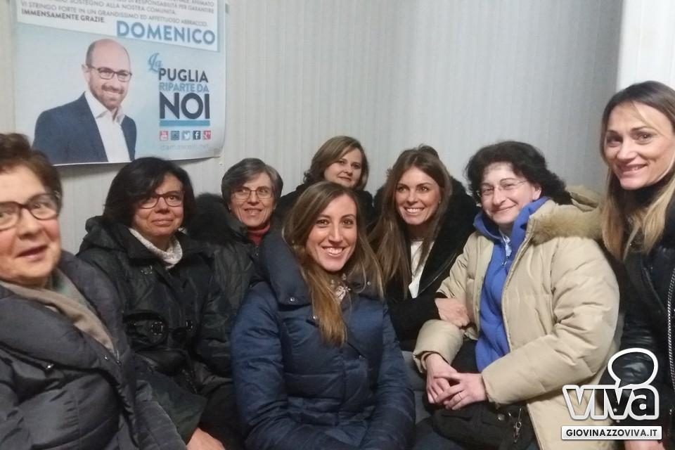 Il gruppo femminile