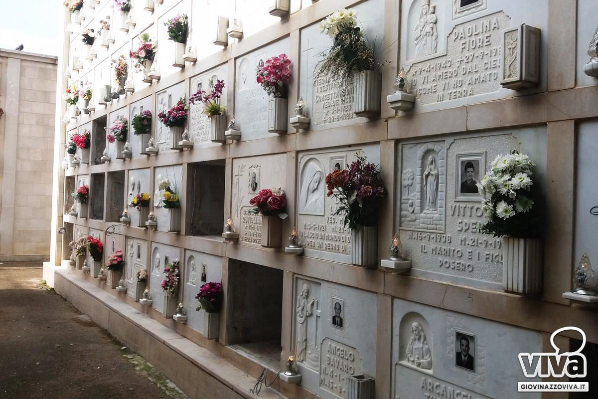 Luci di nuovo accese nel terzo blocco del cimitero