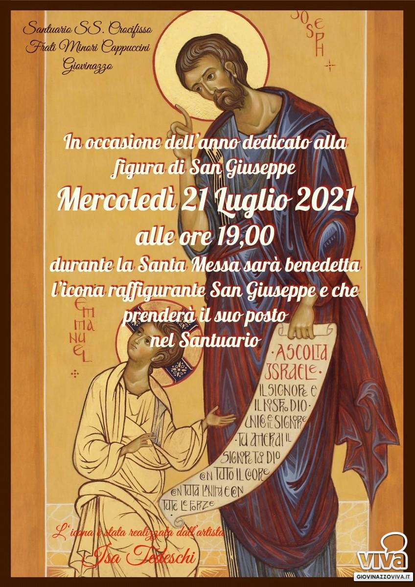 San Giuseppe benedicente