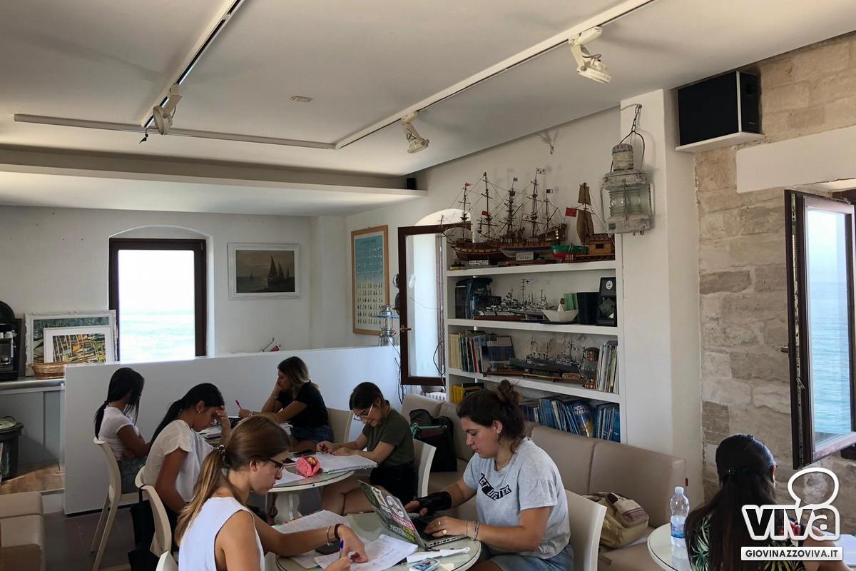 Sala studio alla Vedetta