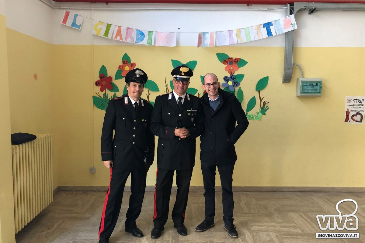 Carabinieri con Ass. Sollecito