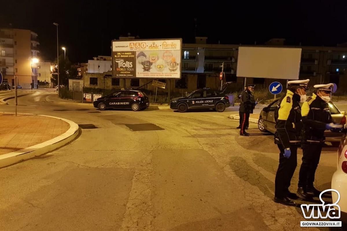 Controlli coordinati di Carabinieri e Polizia Locale