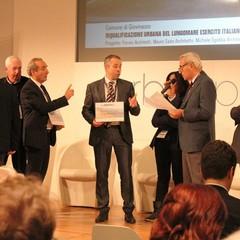 Tommaso Depalma e Cesare Trematore ricevono il premio