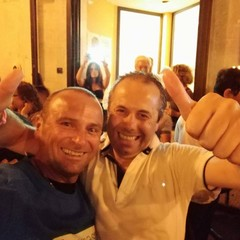 Tommaso Depalma con Felice Bologna