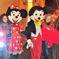Anche Topolino e Minnie con i volontari del SerMolfetta