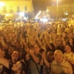 Fanno festa i supporters di Depalma