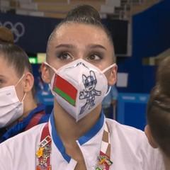 Ginnastica ritmica, splendido bronzo olimpico per Alina Harnasko