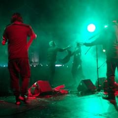 I Tamburellisti di Torrepaduli dal palco