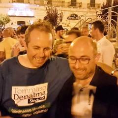 Tommaso Depalma col Consigliere regionale Domenico Damascelli