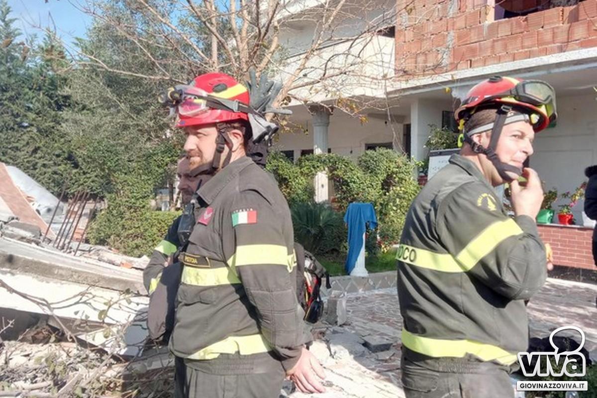 Vigili del Fuoco italiani sul campo