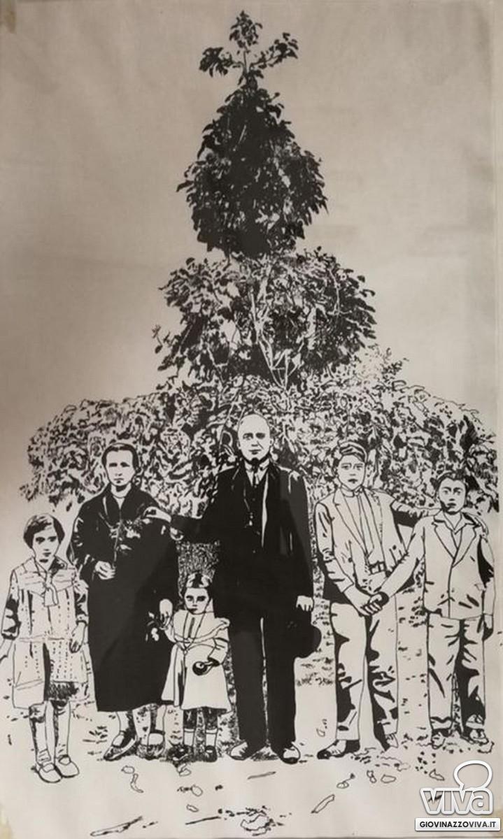 Il calco della famiglia Illuzzi