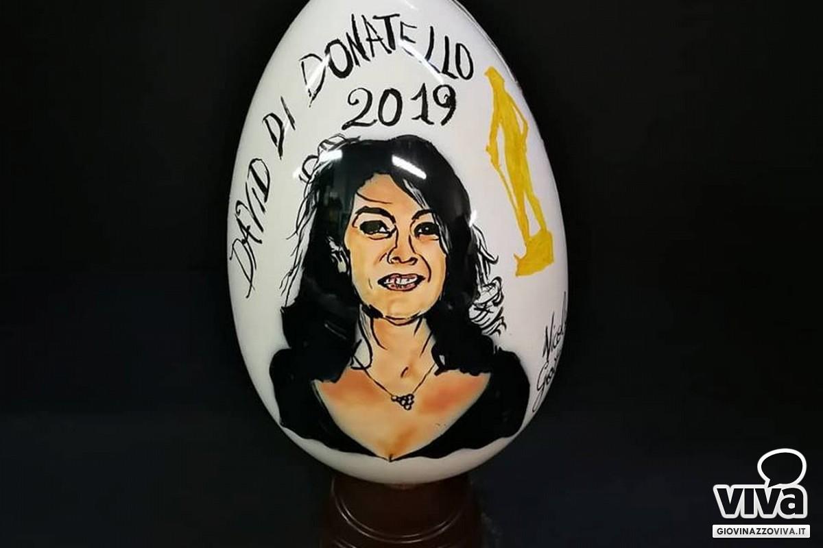 L'uovo di Pasqua realizzato da Nicola Giotti