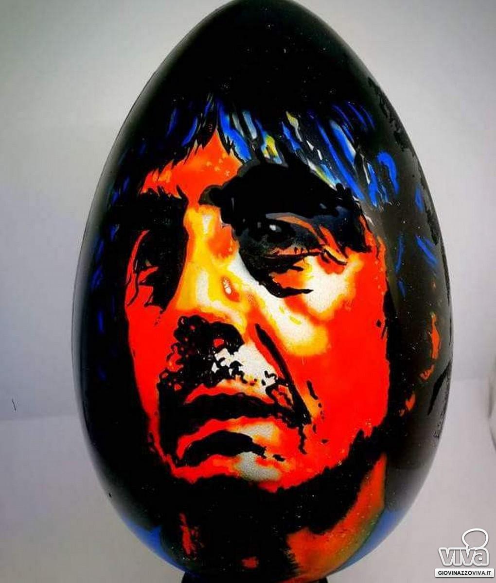 L'uovo con il volto di Sergio Rubini