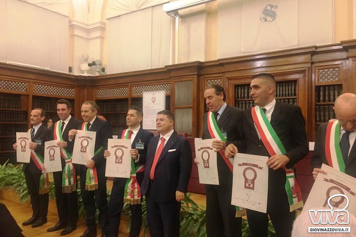 Riconoscimenti a Palazzo Madama