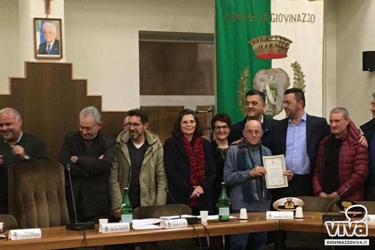 L'Aiap premiata in Consiglio comunale