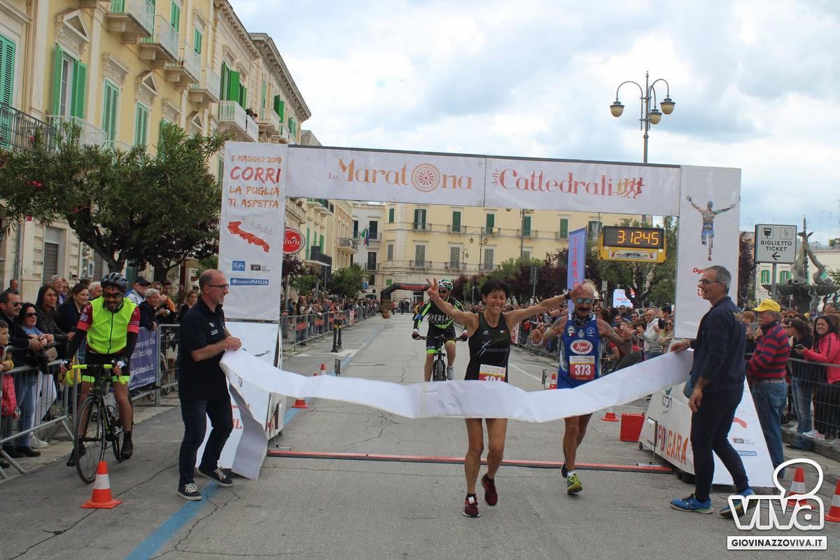 Pamela Greco prima nella 42 km femminile
