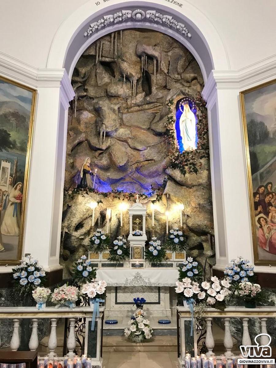 La Grotta riproposta a Sant'Agostino