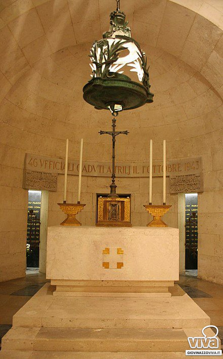 Il mausoleo di Treglia dove riposano le spoglie