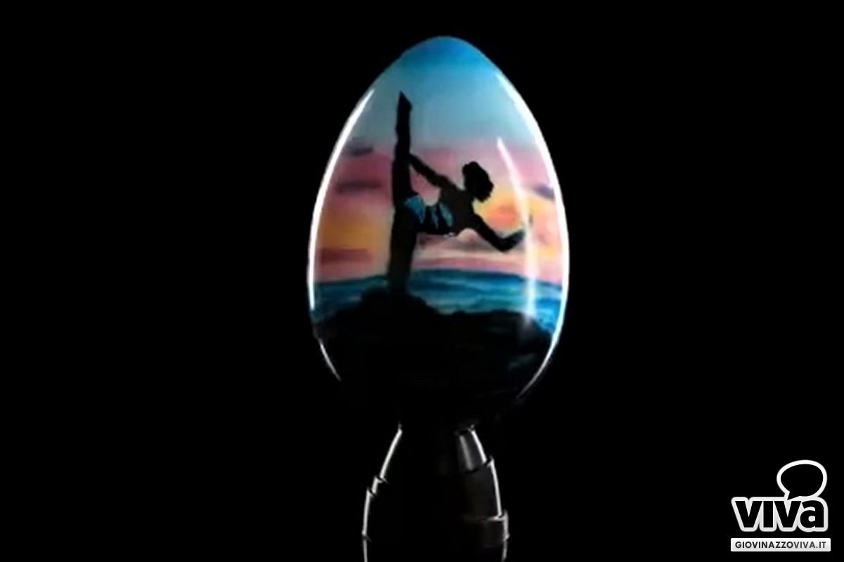 Uovo di cioccolato Nicola Giotti