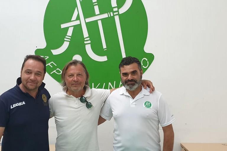 Pino Marzella allenatore dell'AFP Giovinazzo