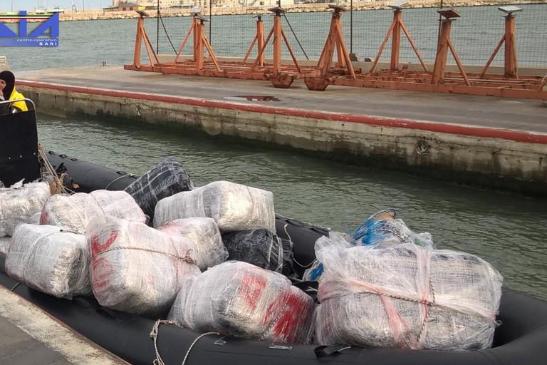 La droga sequestrata dalla Direzione Investigativa Antimafia