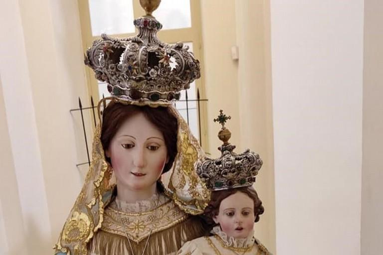 La Madonna delle Grazie. <span>Foto Concattedrale S.Maria Assunta</span>
