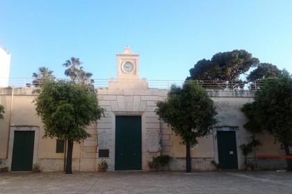 L'atrio dell'Orologio dell'IVE. <span>Foto Gianluca Battista</span>