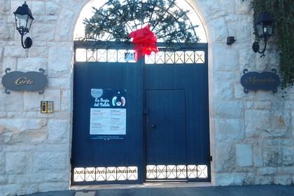 L'ingresso di Corte Meraviglia (Foto Gianluca Battista)