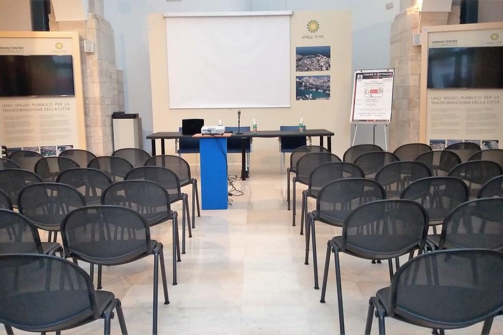Sala San Felice. <span>Foto Gianluca Battista</span>