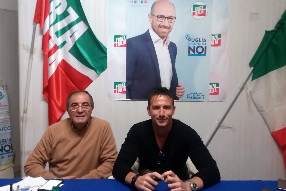 Ruggero Iannone e Gaetano Depalo. <span>Foto Gianluca Battista</span>
