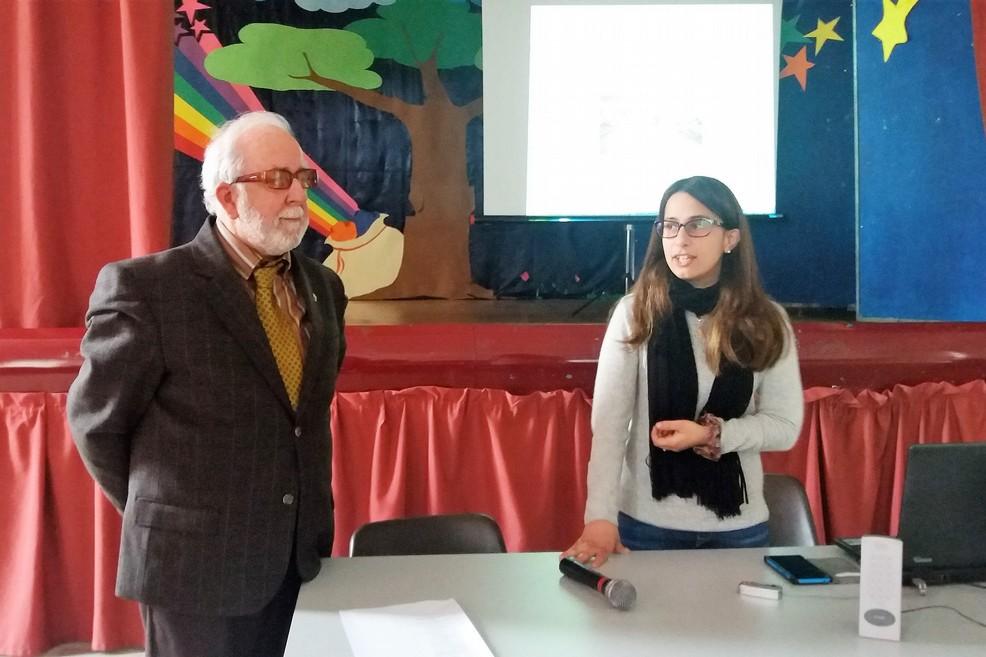 Giuseppe Dicuonzo Sansa e l'Assessore Paladino. <span>Foto Gianluca Battista</span>