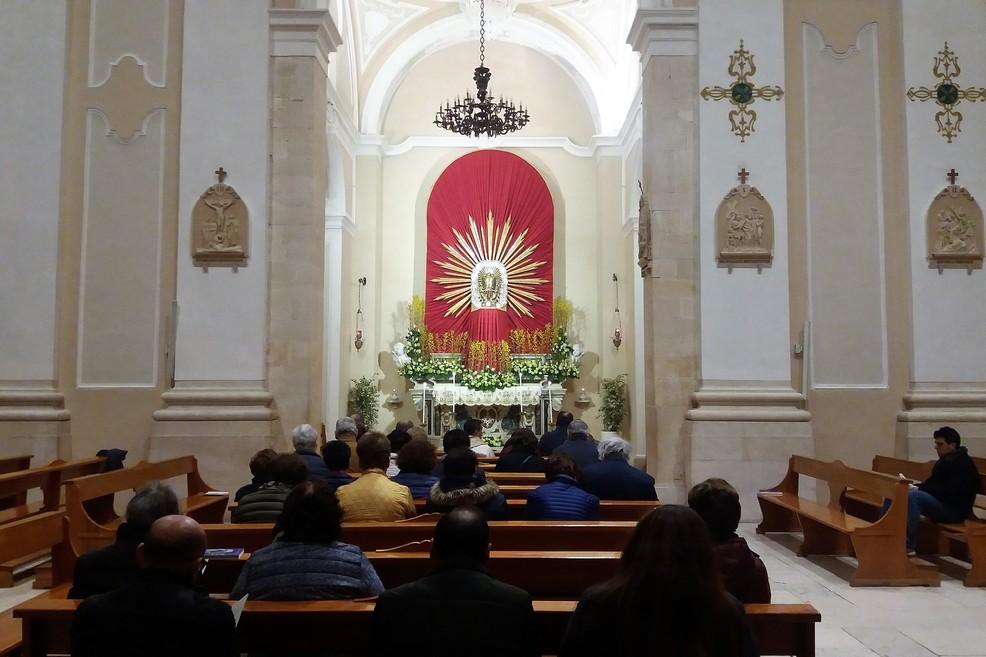 L'Altare della Reposizione a San Domenico. <span>Foto Gianluca Battista</span>