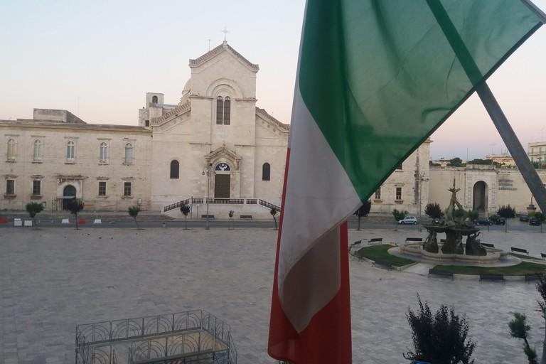 Piazza Vittorio Emanuele II da Palazzo di Città. <span>Foto Gianluca Battista</span>