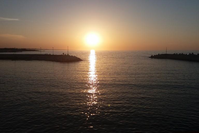 Il mare grande riorsa. <span>Foto Gianluca Battista</span>