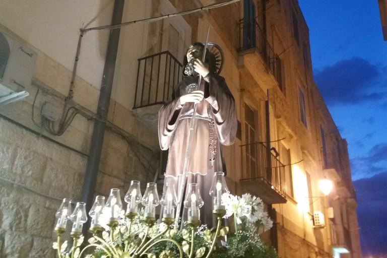 San Francesco da Paola in processione