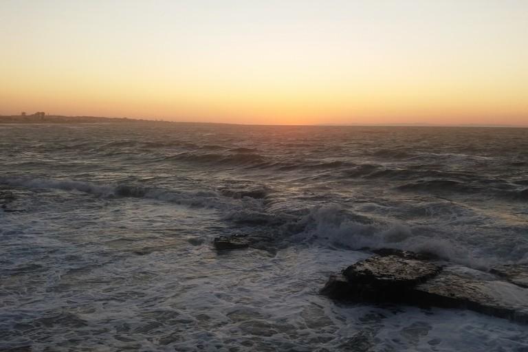 Mare agitato a Ponente