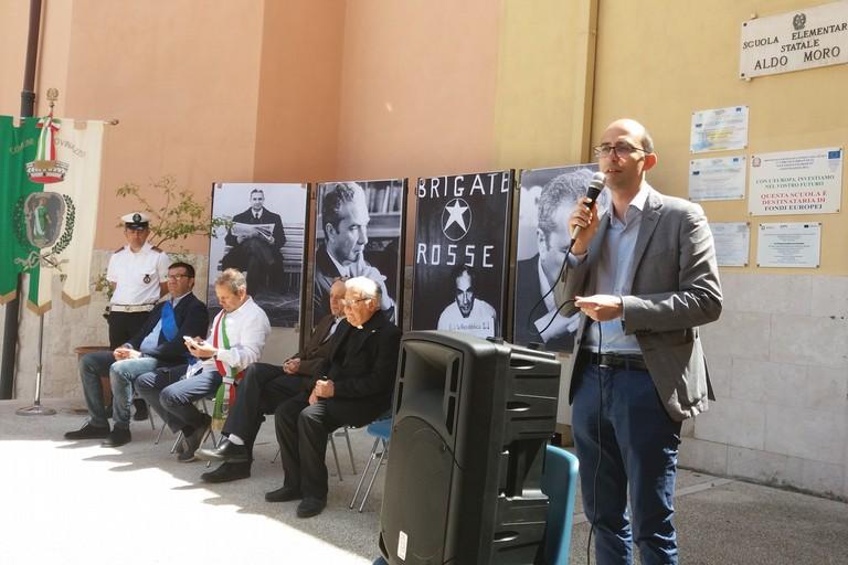 La commemorazione in piazza Sant'Agostino (Foto Gianluca Battista)
