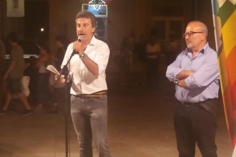 Daniele de Gennaro e Michele Digiaro. <span>Foto Gianluca Battista</span>