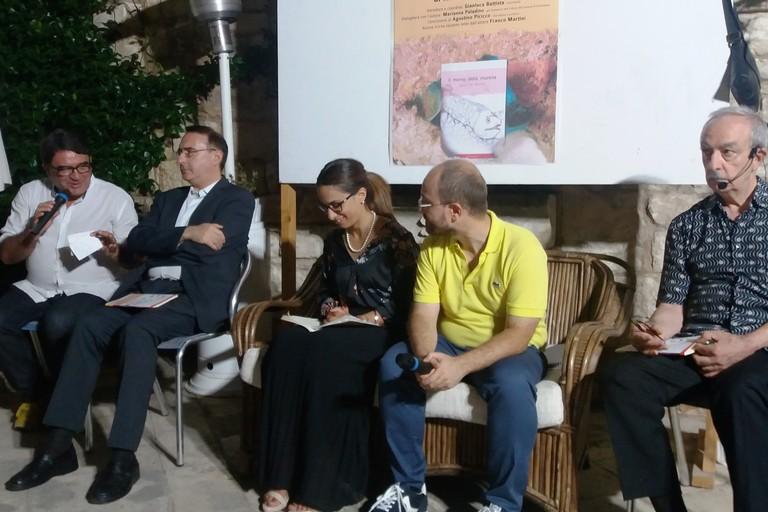 Nicola De Matteo presenta il suo libro (Foto Gabriella Serrone)
