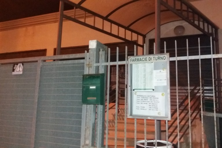 La Farmacia comunale. <span>Foto Gianluca Battista</span>