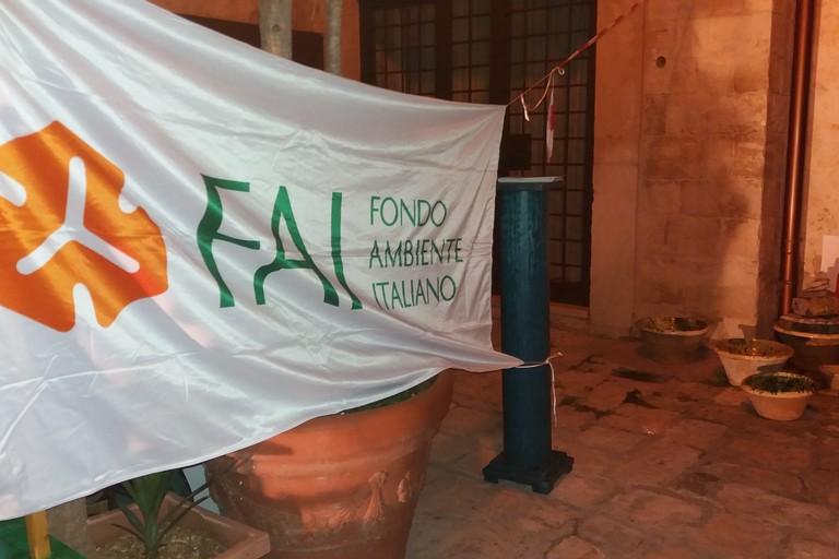 Il FAI a Palazzo Saraceno. <span>Foto Gianluca Battista</span>