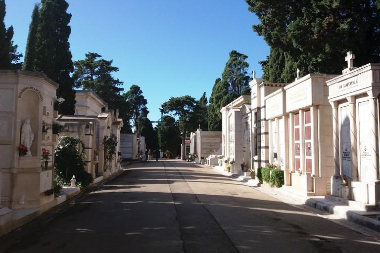 Il cimitero comunale. <span>Foto Gianluca Battista</span>