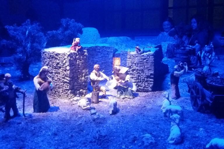 La Natività nel Dolmen di San Silvestro