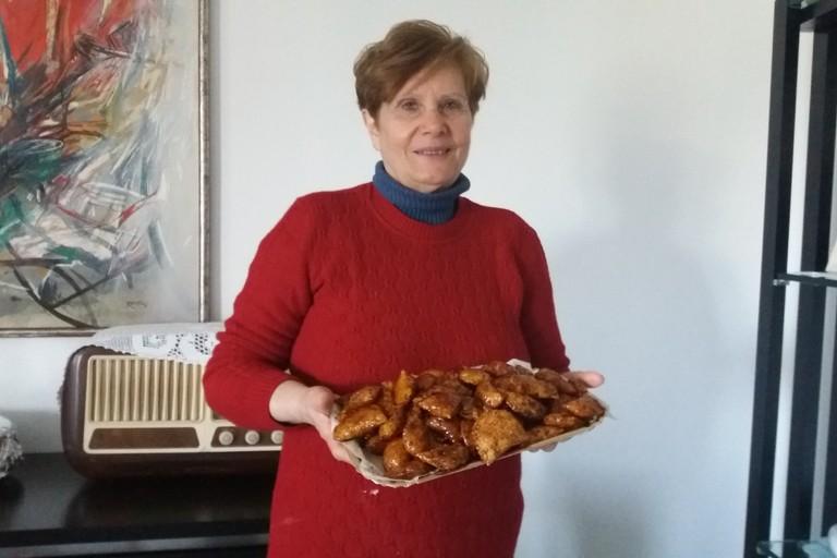 Anna Milone con le sue prelibatezze