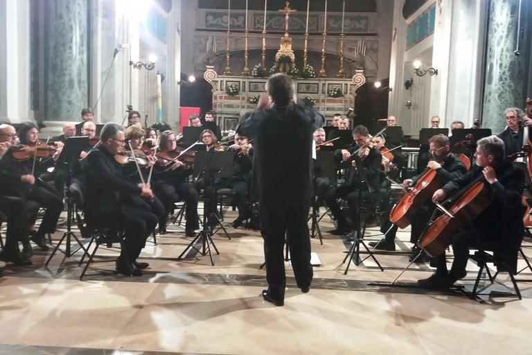 L'Orchestra Metropolitana a Sant'Agostino. <span>Foto Gianluca Battista</span>