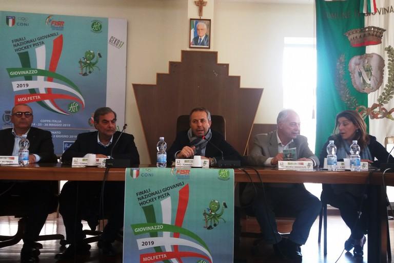 La conferenza stampa di presentazione. <span>Foto Gianluca Battista</span>