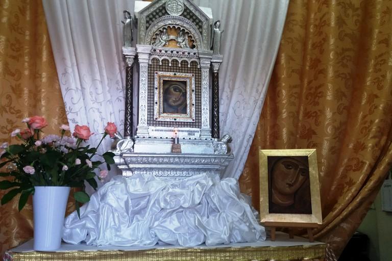 L'altare della Madonna. <span>Foto Gianluca Battista</span>