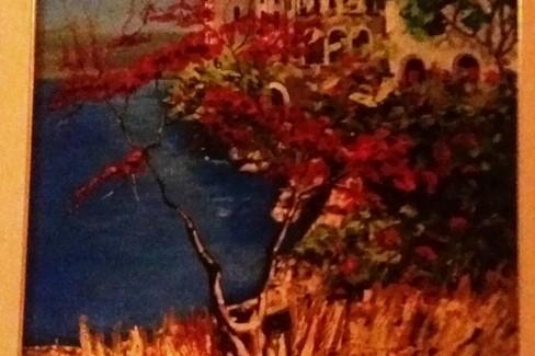 Colori e paesaggi nella tela di Guarino