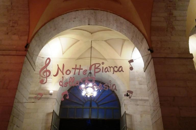 Nona edizione della Notte Bianca della Poesie. <span>Foto Gianluca Battista</span>